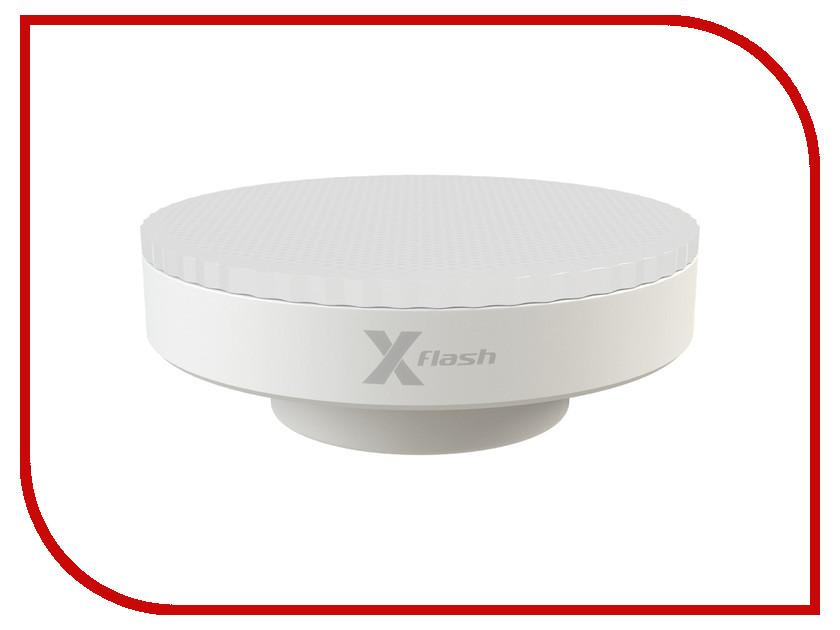 Лампочка X-flash XF-GX53-P-7W-3000K-220V 47215 лампа светодиодная x flash xf e27 r90 p 12w 3000k 220v 10шт