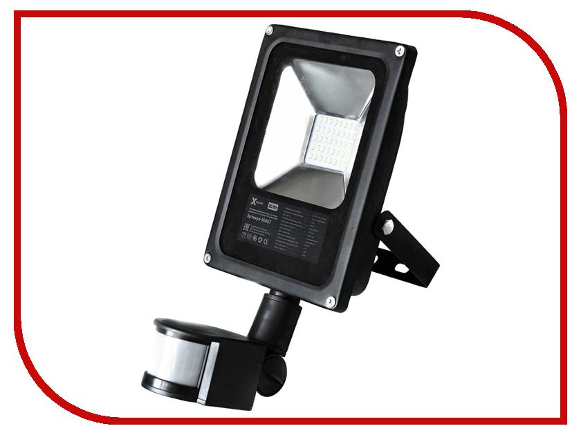 Лампа X-flash XF-FLS-SMD-PIR-20W-6500K IP65 46867<br>
