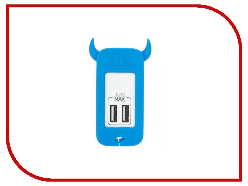 �������� ���������� MOMAX U.Bull 2-ports USB UM2S Blue