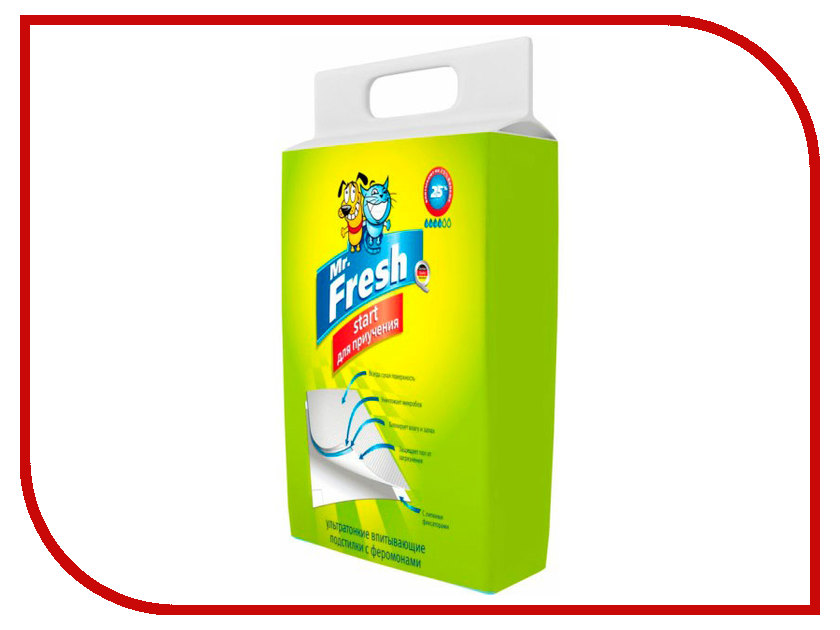 Пеленки Mr.Fresh Start 40х60см 15штук F204