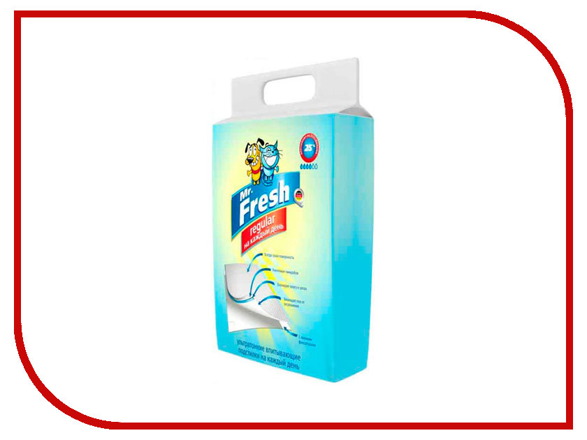 Пеленки Mr.Fresh Regular 60х60см 12штук F202