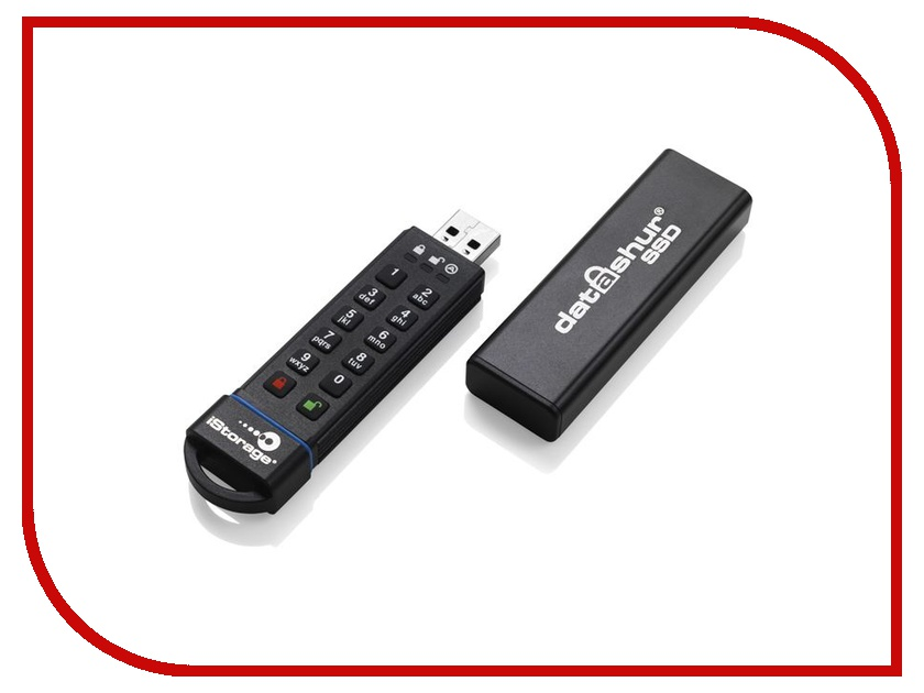 USB Flash Drive 120Gb - iStorage DatAshur SSD IS-FL-DA-SSD-120