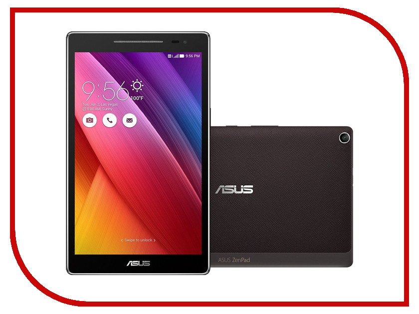 Планшет ASUS ZenPad 8 Z380C-1A087A Black 90NP0221-M02670 (Intel Atom x3-C3200 1.2 Ghz/1024MB/8Gb/Wi-Fi/Bluetooth/Cam/8.0/1280x800/Android)