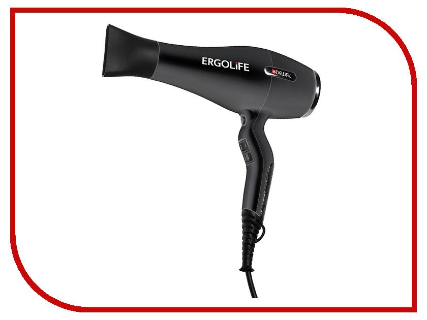 Фен DEWAL ErgoLife 03-001 Black<br>