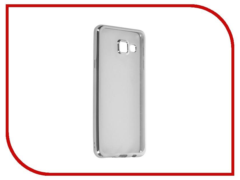 цена на Аксессуар Чехол Samsung Galaxy A3 (2016) DF sCase-22 Silver