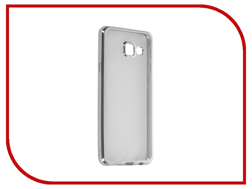 Аксессуар Чехол Samsung Galaxy A3 (2016) DF sCase-22 Silver стоимость