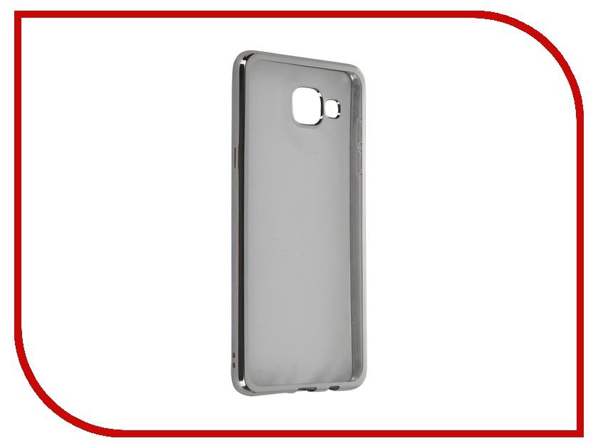 Аксессуар Чехол Samsung Galaxy A5 (2016) DF sCase-23 Silver<br>