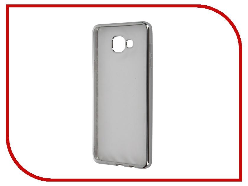 Аксессуар Чехол Samsung Galaxy A7 (2016) DF sCase-24 Silver<br>