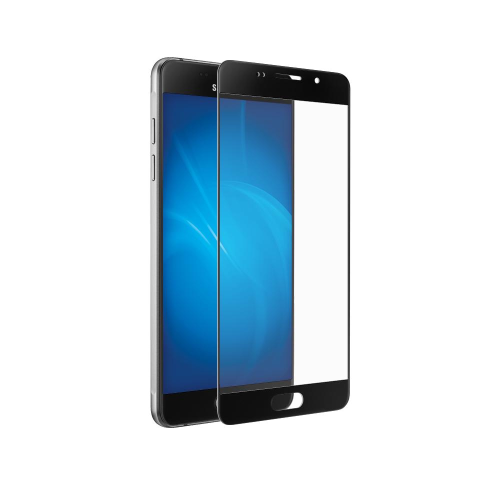 Аксессуар Закаленное стекло DF для Samsung Galaxy A3 2016 Full Screen sColor-07 Black стоимость