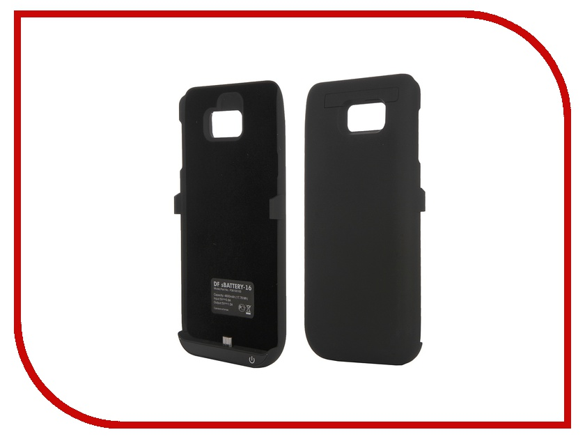 Аксессуар Чехол-аккумулятор Samsung Galaxy Note 5 DF SBattery-16 Black<br>