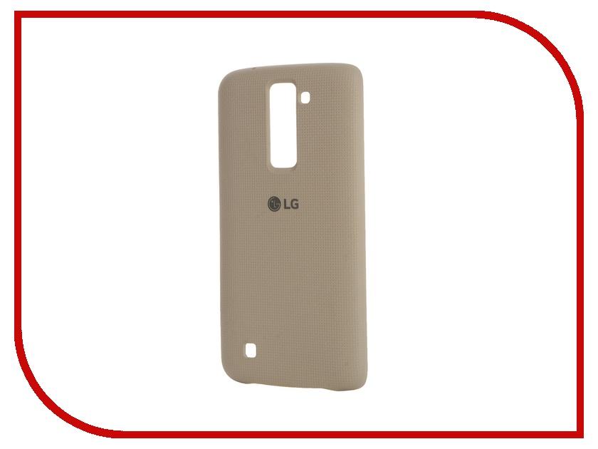 Чехол LG K8 Red Line Book Type Black