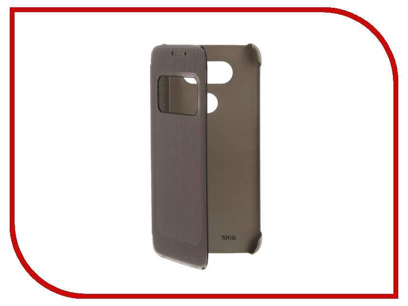 Аксессуар Чехол LG G5 QuickCover Gold CFV-160<br>