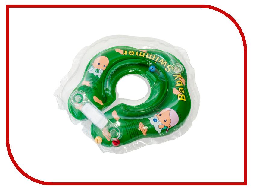 Надувной круг Baby Swimmer BS02G-B