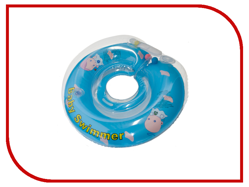 Надувной круг Baby Swimmer Солнечный остров BS12B-B