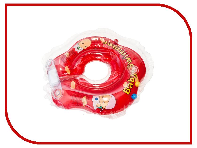 Надувной круг Baby Swimmer BS02R-B