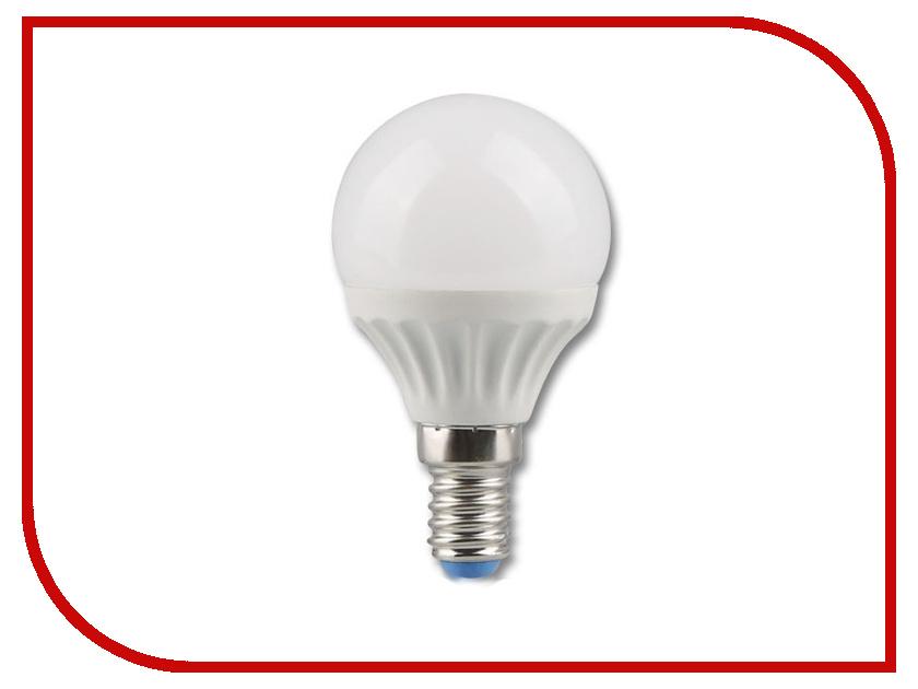 Лампочка Rev LED G45 E14 5W 4000K холодный свет 32261 0 лампочка rev led r39 e14 3w 4000k холодный свет 32362 4
