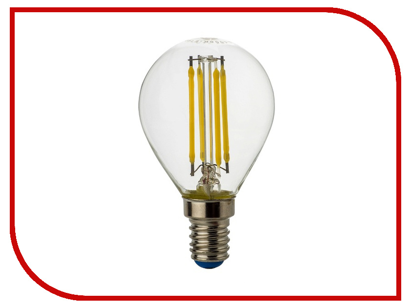 Лампочка Rev LED E14 G45 5W 4000K Premium Filament холодный свет 32358 7 edison light bulb e27 e14 led lamp filament light vintage glass led bulb 220v retro candle light 2 4 6 8leds g45 g80 g95 g125
