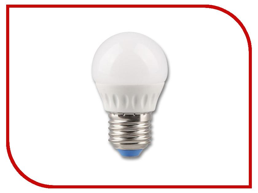 Лампочка Rev LED G45 E27 5W 4000K холодный свет 32263 4 лампочка rev led a60 e27 20w 4000k холодный свет 32405 8