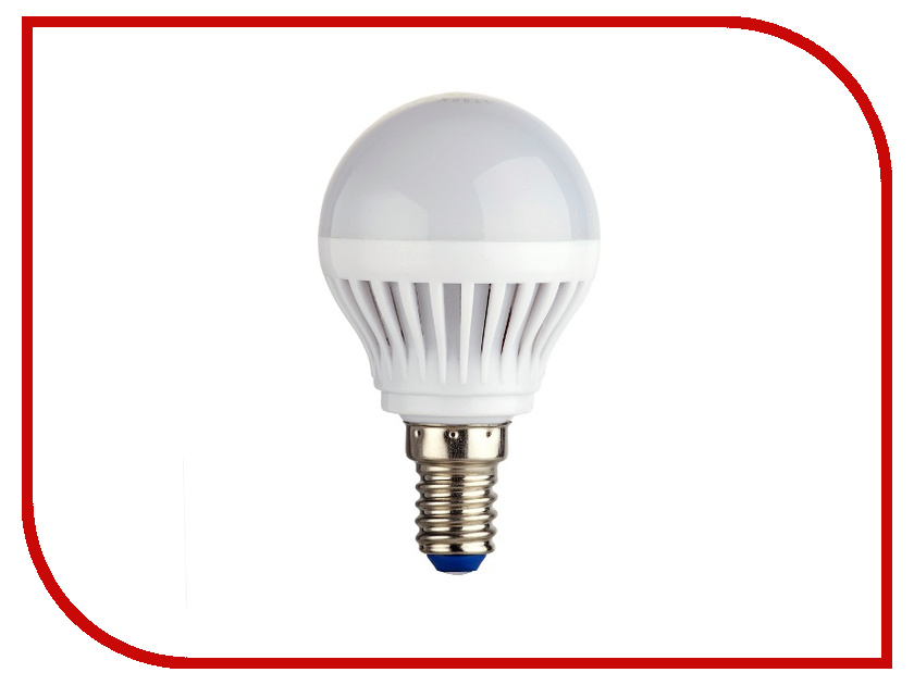 Лампочка Rev LED G45 E14 7W 4000K холодный свет 32341 9 лампочка rev led par16 gu10 3w 4000k холодный свет 32327 3