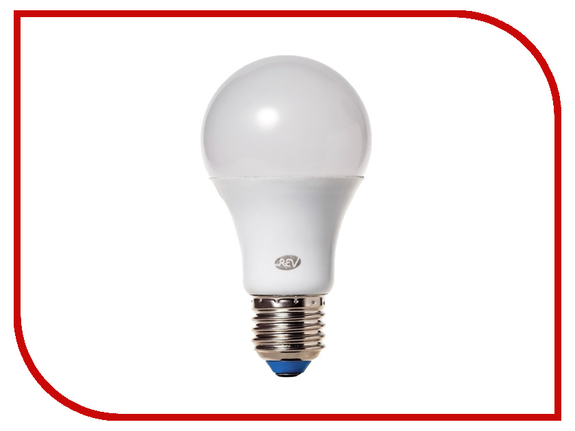 Лампочка Rev LED A55 E27 5W 4000K холодный свет 32345 7 лампочка rev led par16 gu10 3w 4000k холодный свет 32327 3