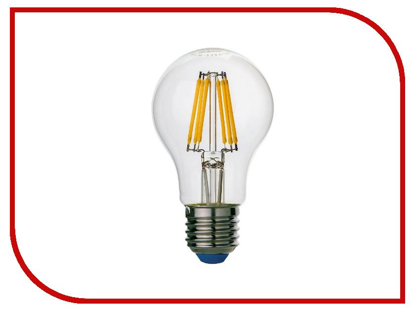 Лампочка Rev LED A60 E27 7W 4000K Premium Filament холодный свет 32354 9 лампочка rev led par16 gu10 3w 4000k холодный свет 32327 3