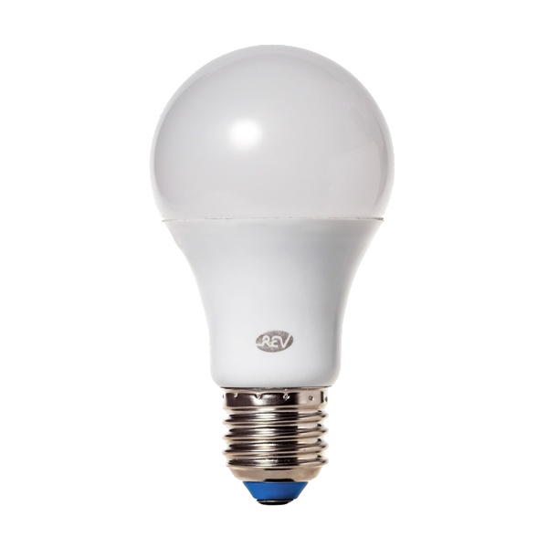 Лампочка Rev LED A60 E27 8,5W 2700K теплый свет 32379 2 лампочка rev led a60 e27 10w 4000k 32267 2