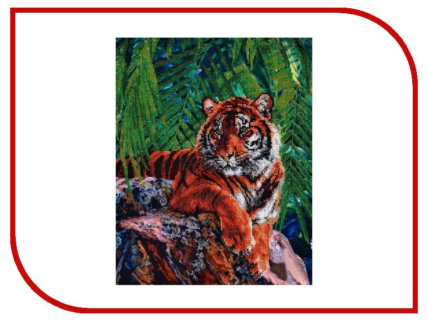 Набор для творчества Hobby&Pro Тигр для вышивания бисером БН-3052 набор для вышивания hobby