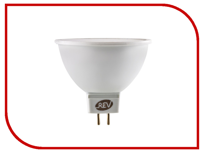 Лампочка Rev LED MR16 GU5.3 3W 3000K теплый свет 12V 32369 3<br>