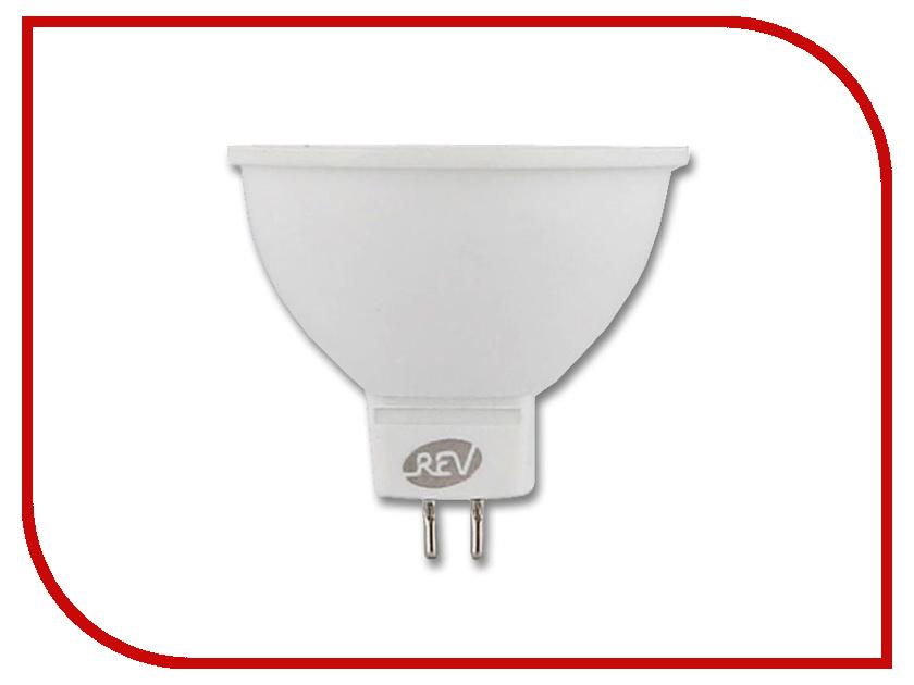 Лампочка Rev LED MR16 GU5.3 7W 4000K холодный свет 32325 9 лампочка rev led par16 gu10 3w 4000k холодный свет 32327 3