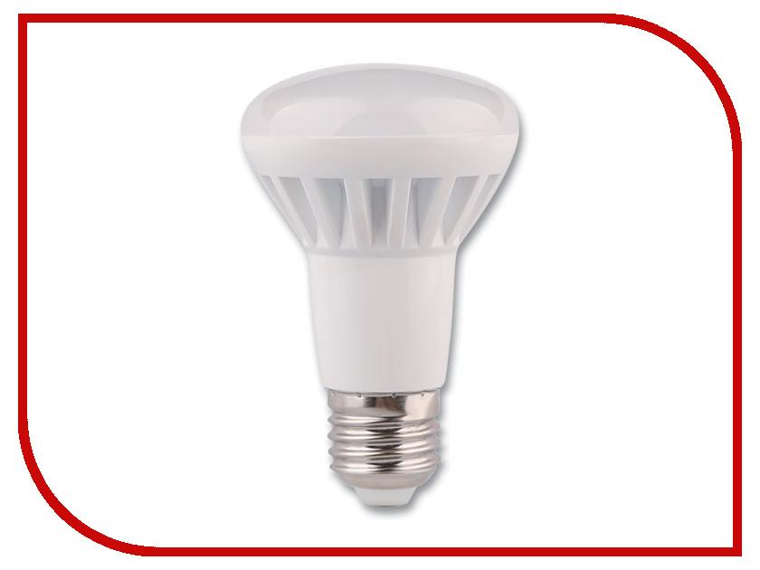 Лампочка Rev LED R63 E27 8W 4000K холодный свет 32337 2  детектор rev 19309 8