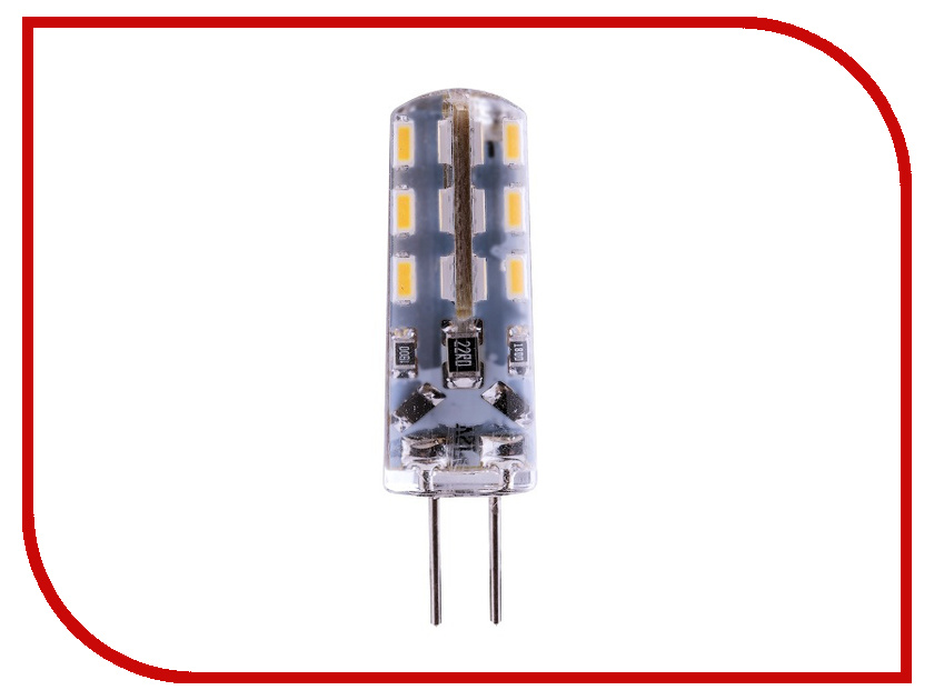 Лампочка Rev LED JC G4 1,6W 2700K 12V теплый свет 32365 5