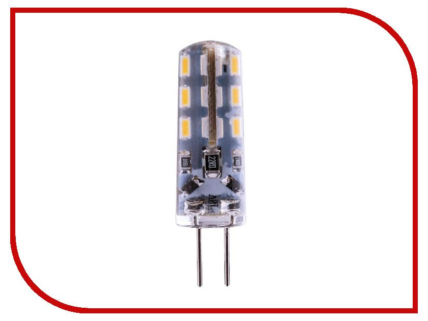 Лампочка Rev LED JC G4 1,6W 4000K 12V холодный свет 32366 2
