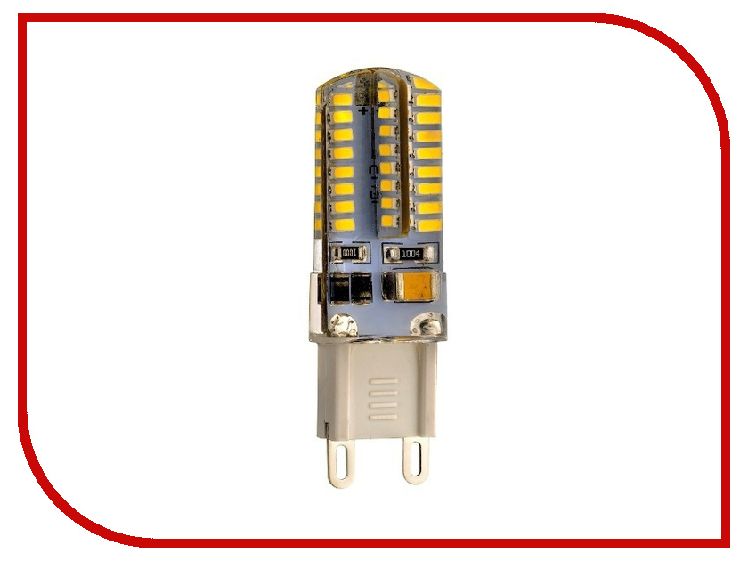 Лампочка Rev LED JCD G9 3W 2700K теплый свет 32367 9