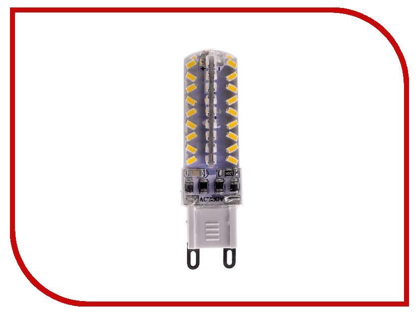 Лампочка Rev LED JCD G9 3W 2700K теплый свет, диммируемая 32382 2