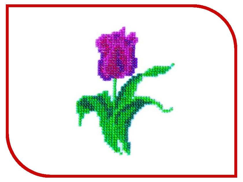 Набор для творчества Бисеринка Тюльпан для вышивания бисером Б-0044