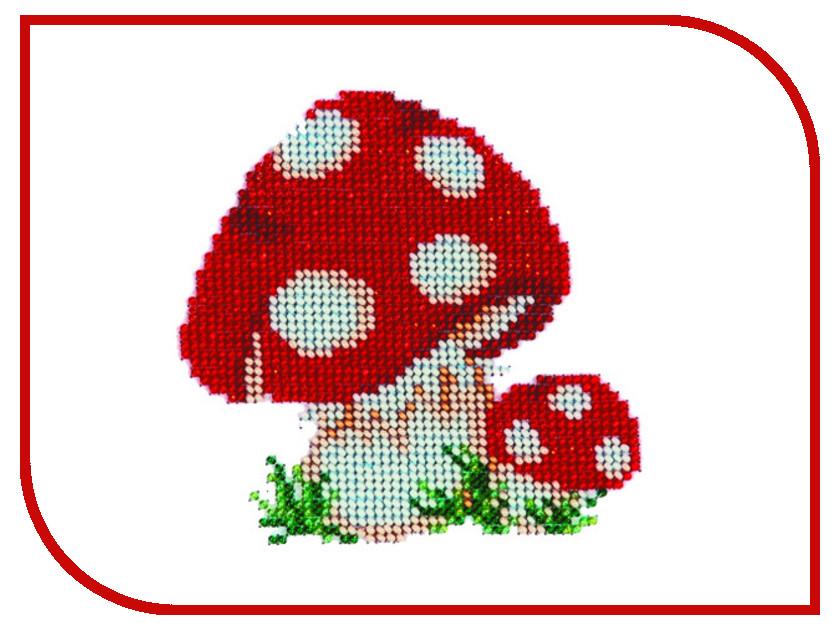 Набор для творчества Бисеринка Мухоморчики для вышивания бисером Б-0034<br>