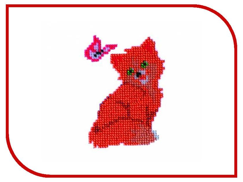 Набор для творчества Бисеринка Киса для вышивания бисером Б-0021