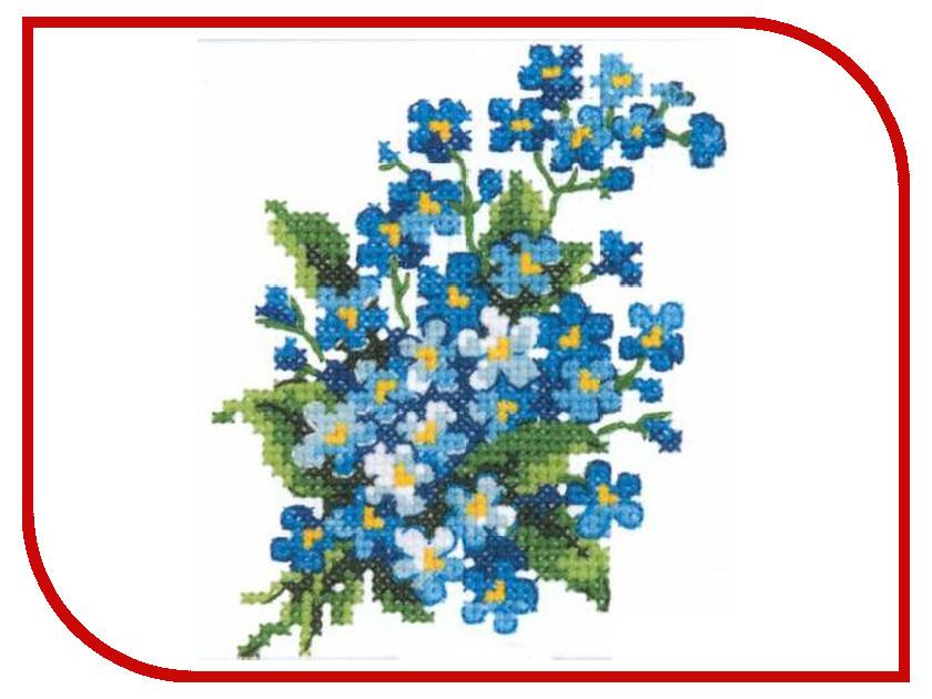 Набор для творчества Чудесная игла Незабудки для вышивания 28-06<br>