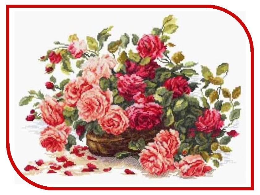 Набор для творчества Чудесная игла Королевские розы для вышивания 40-38<br>