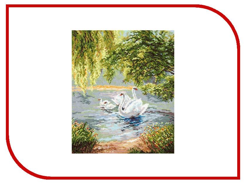 Набор для творчества Чудесная игла Лебеди для вышивания 44-02 В042<br>