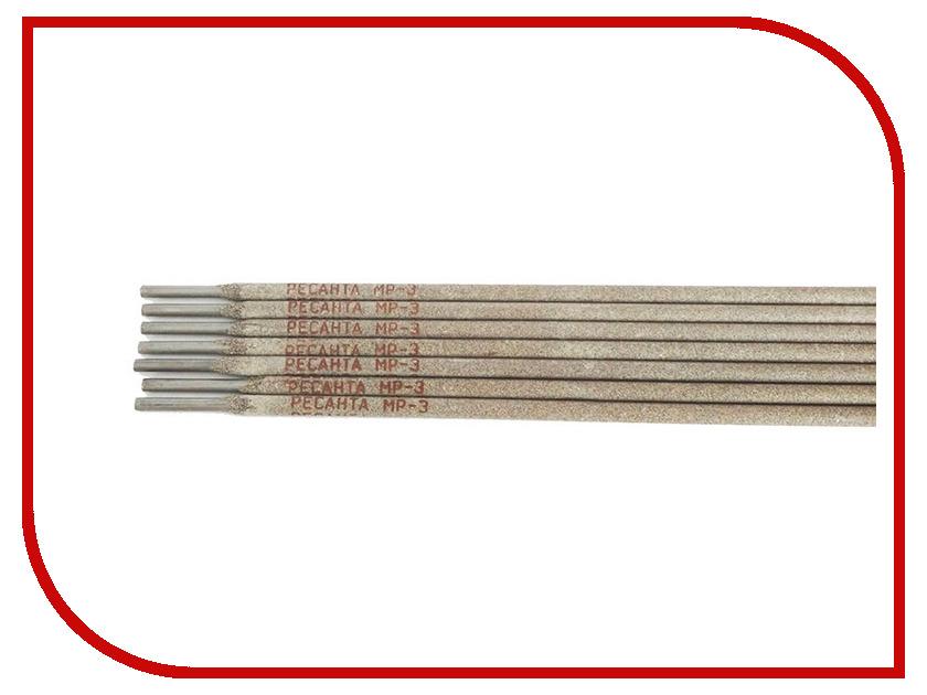 Аксессуар Электроды Ресанта МР-3 Ф3,0 пачка 3кг 71/6/21 электроды для сварки ресанта мр 3 ф4 0 3кг