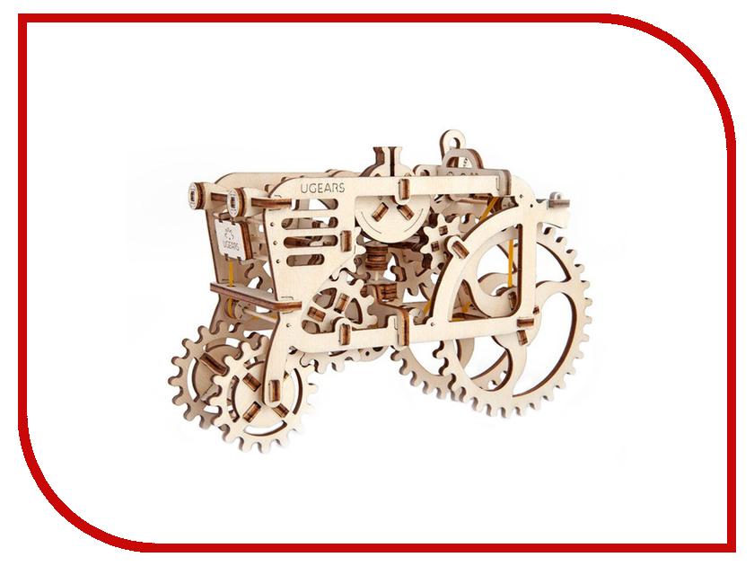 3D-пазл UGears Трактор rui chuang qy0231a 1 32 и трактор 1 20
