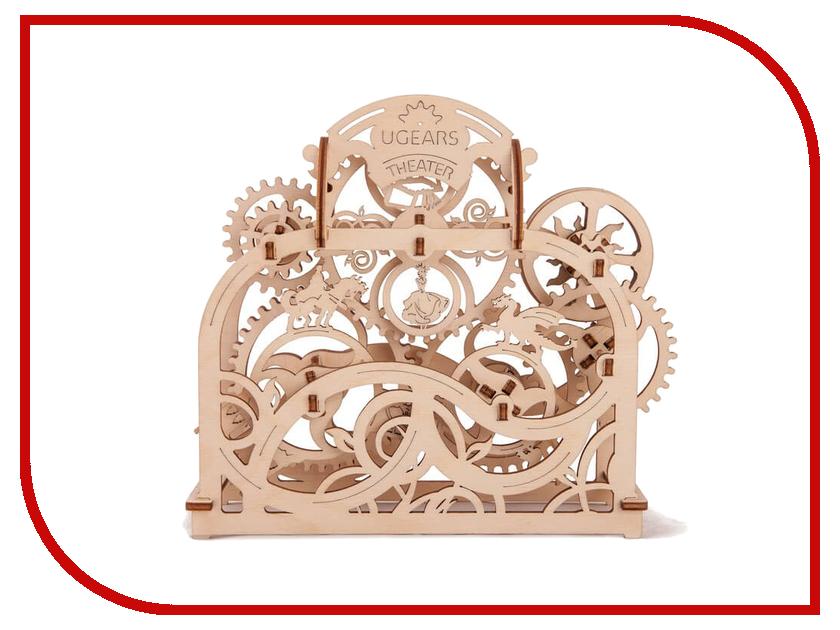 3D-пазл UGears Механический театр робинс книга 3d театр ферма