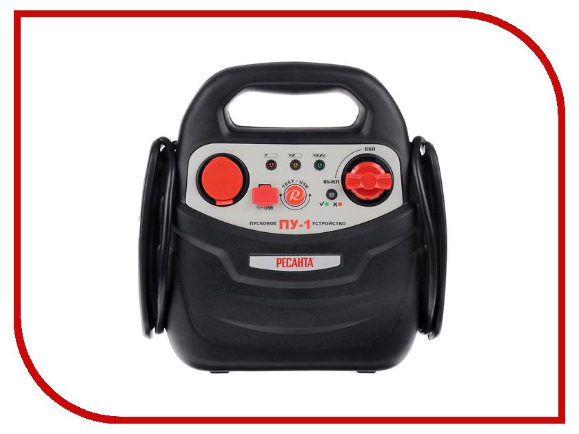 Зарядное устройство для автомобильных аккумуляторов Ресанта ПУ-1 61/62/1 - пусковое устройство