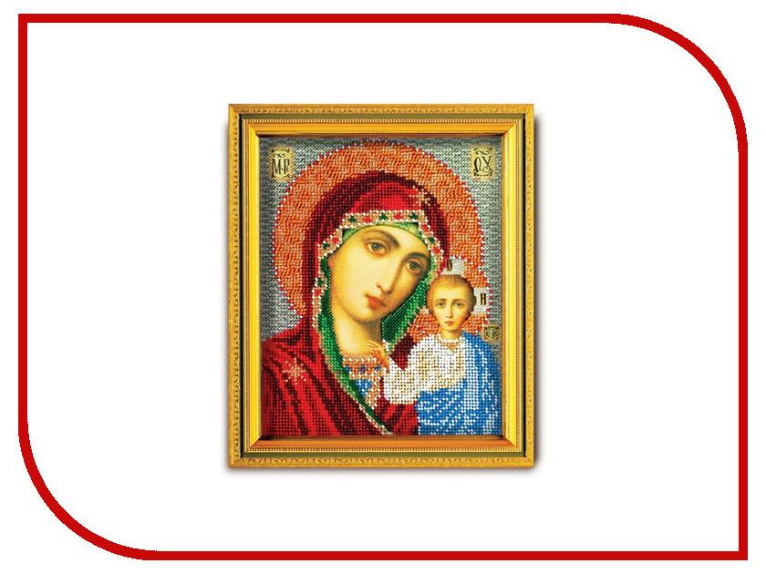 Набор для творчества Кроше Казанская для вышивания бисером В302<br>
