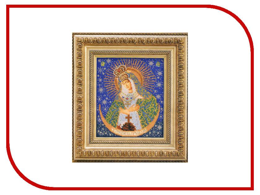 Набор для творчества Кроше Острабрамская Богородица для вышивания бисером В161<br>