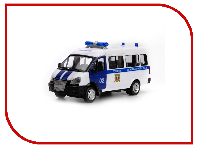Машина Технопарк Полиция X600-H09002-R