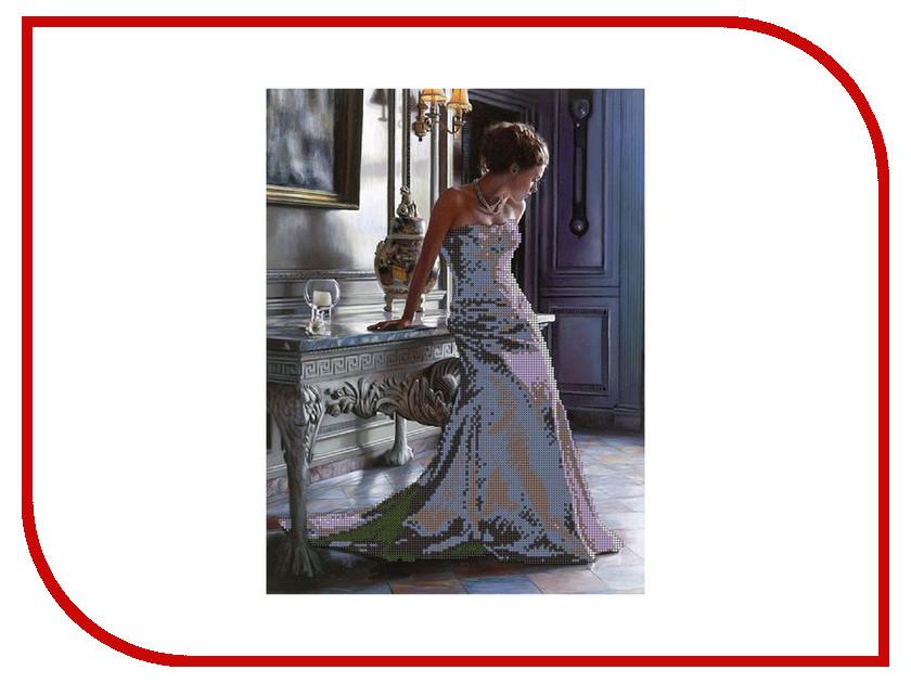 Набор для творчества Gluriya Изящность для вышивания бисером 55010<br>
