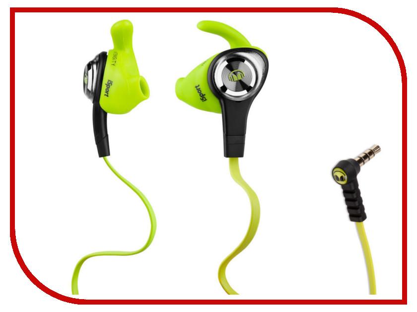Гарнитура Monster iSport Intensity Green 137009-00<br>