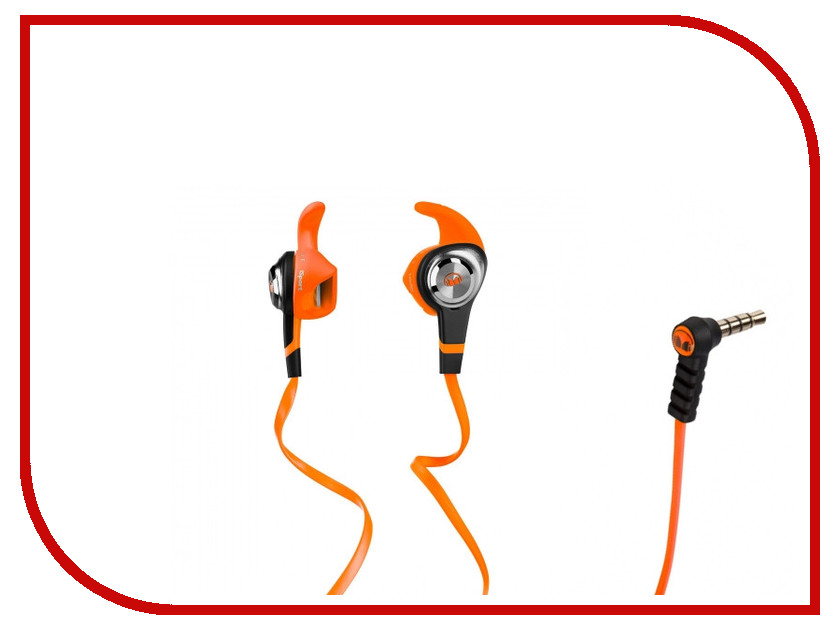 Гарнитура Monster iSport Strive Orange 137029-00<br>